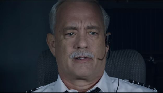 Tom Hanks stars as Chesley Sullenberger (Picture: YouTube)