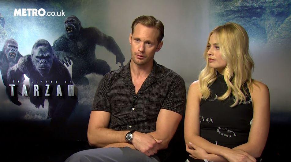 Is the Legend Of Tarzan racist? We asked Alexander Skarsgard, Margot Robbie, and Christoph Waltz