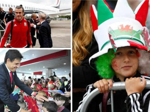 Wales' Euro 2016 heroes welcomed home – in pictures