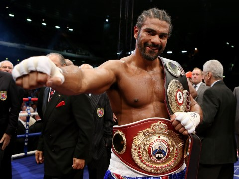 David Haye confident he will be heavyweight champion by the end of 2017