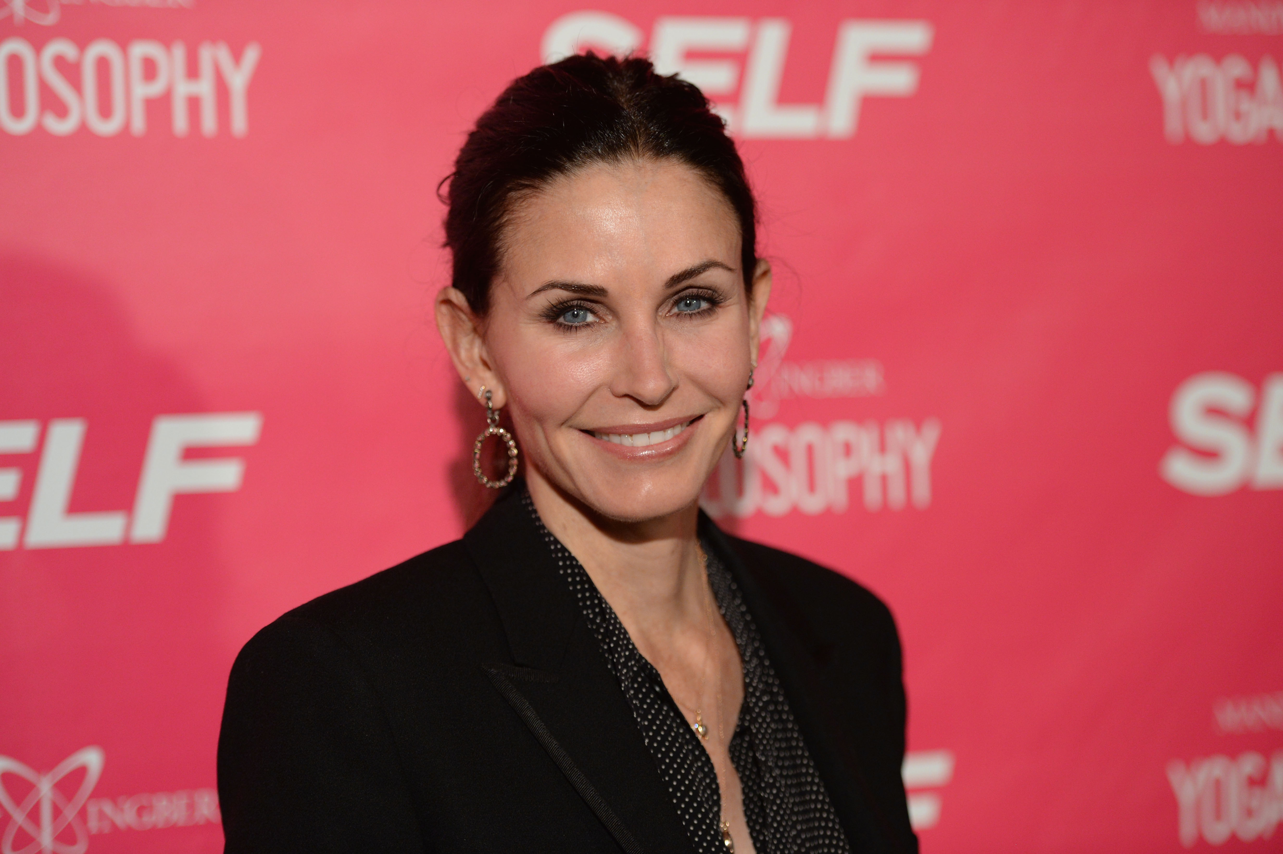 Courteney Cox forced to 'eat a scrotum full of maggots'