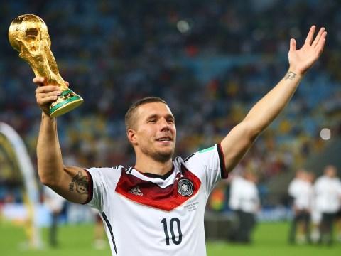 Former Arsenal forward Lukas Podolski retires from international duty