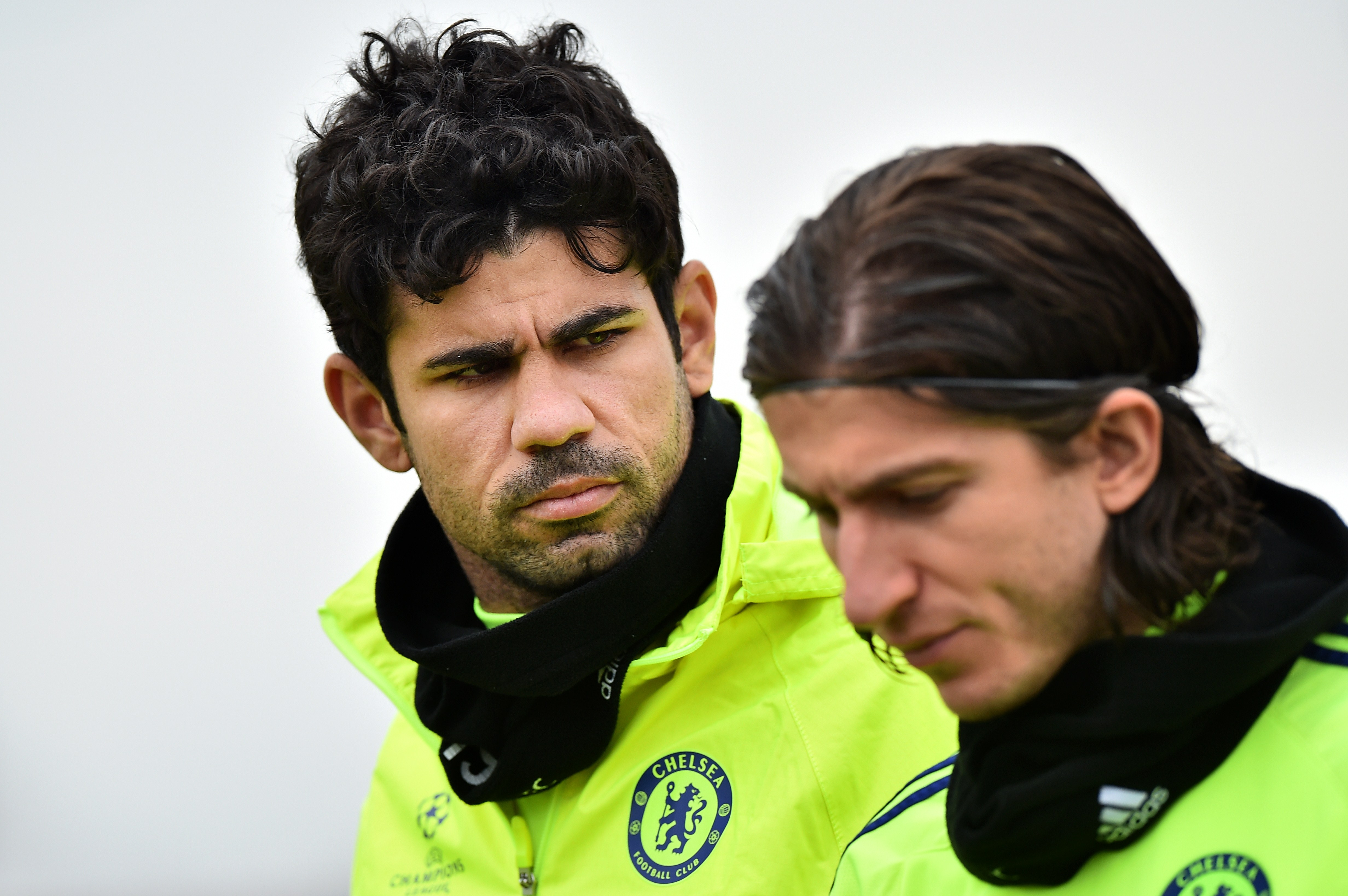 Former Chelsea ace Filipe Luis tells Diego Costa to join him at Atletico Madrid amid transfer rumours