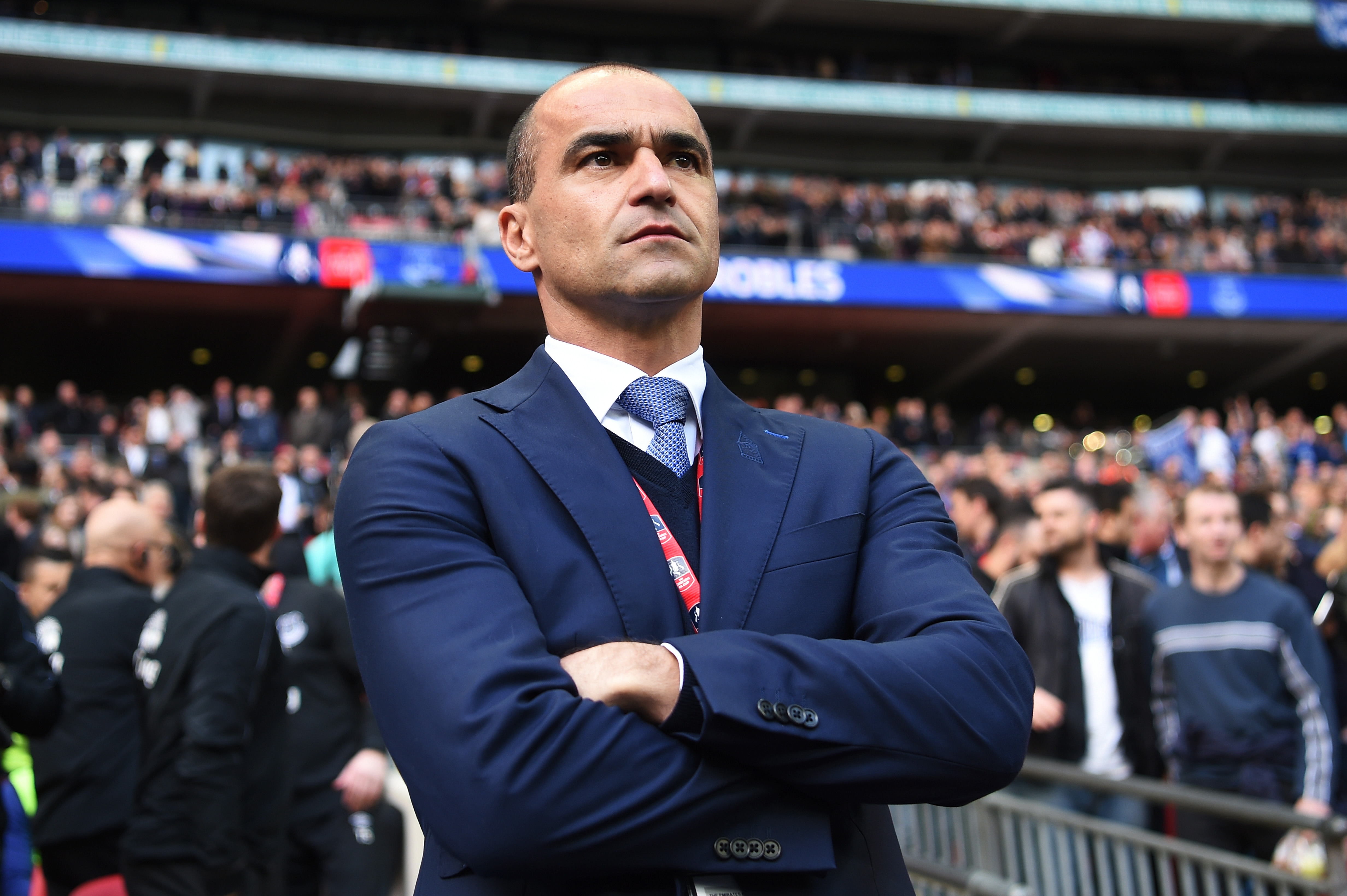 Belgium announce former Everton manager Roberto Martinez as new boss