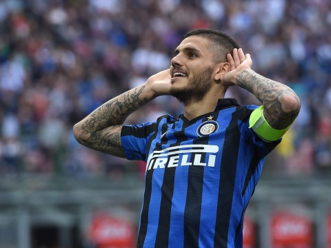 Frank de Boer certain Mauro Icardi will stay at Inter Milan despite Arsenal interest