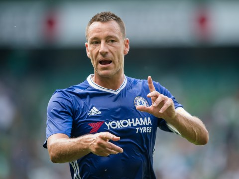 Chelsea captain John Terry shares picture of him enjoying virtual reality