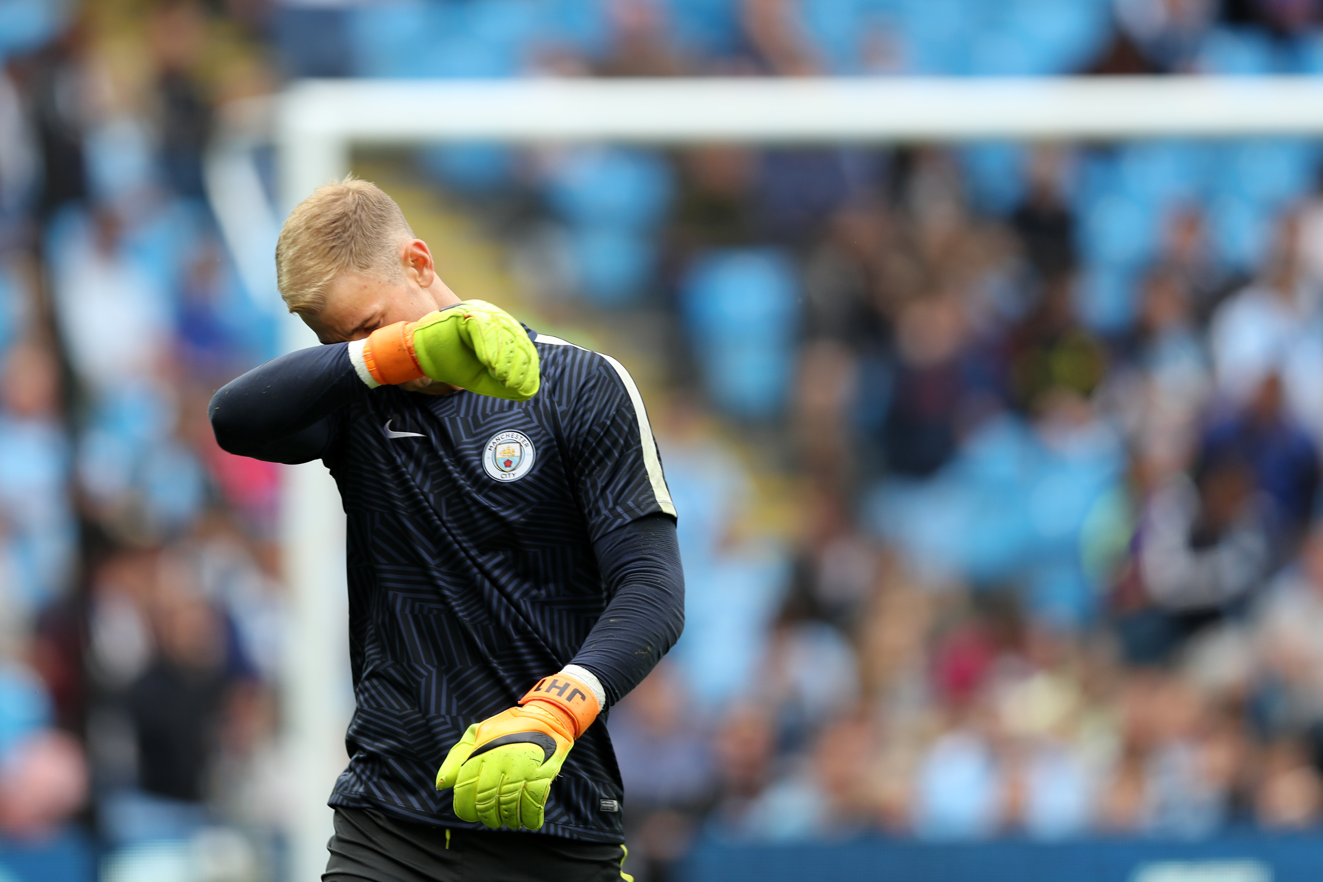 Joey Barton labels Manchester City's treatment of Joe Hart 'disgusting'