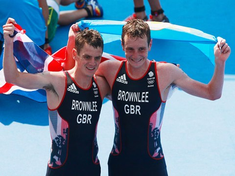 Brownlee brothers embody Olympic spirit with touching embrace after gold & silver finishes in the triathlon