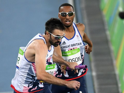 Rio Olympics 2016: Great Britain's men disqualified in 4x400m relay