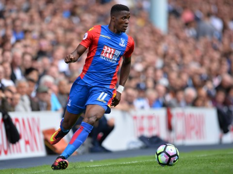 Alan Pardew confirms Wilfried Zaha wants Tottenham transfer move from Crystal Palace