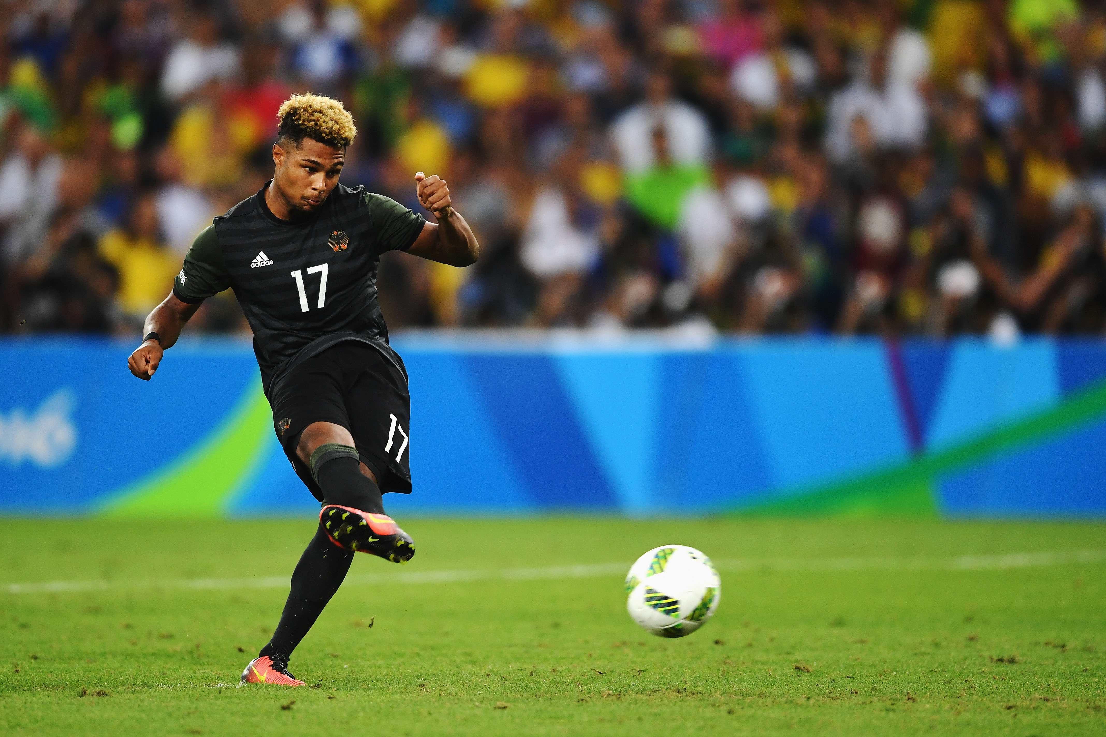 Arsenal star Serge Gnabry named as Germany's best player at Rio 2016 Olympics