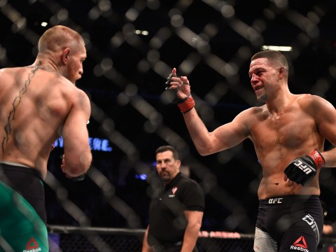 Nate Diaz thinks Conor McGregor should have been penalised for tactics at UFC 202