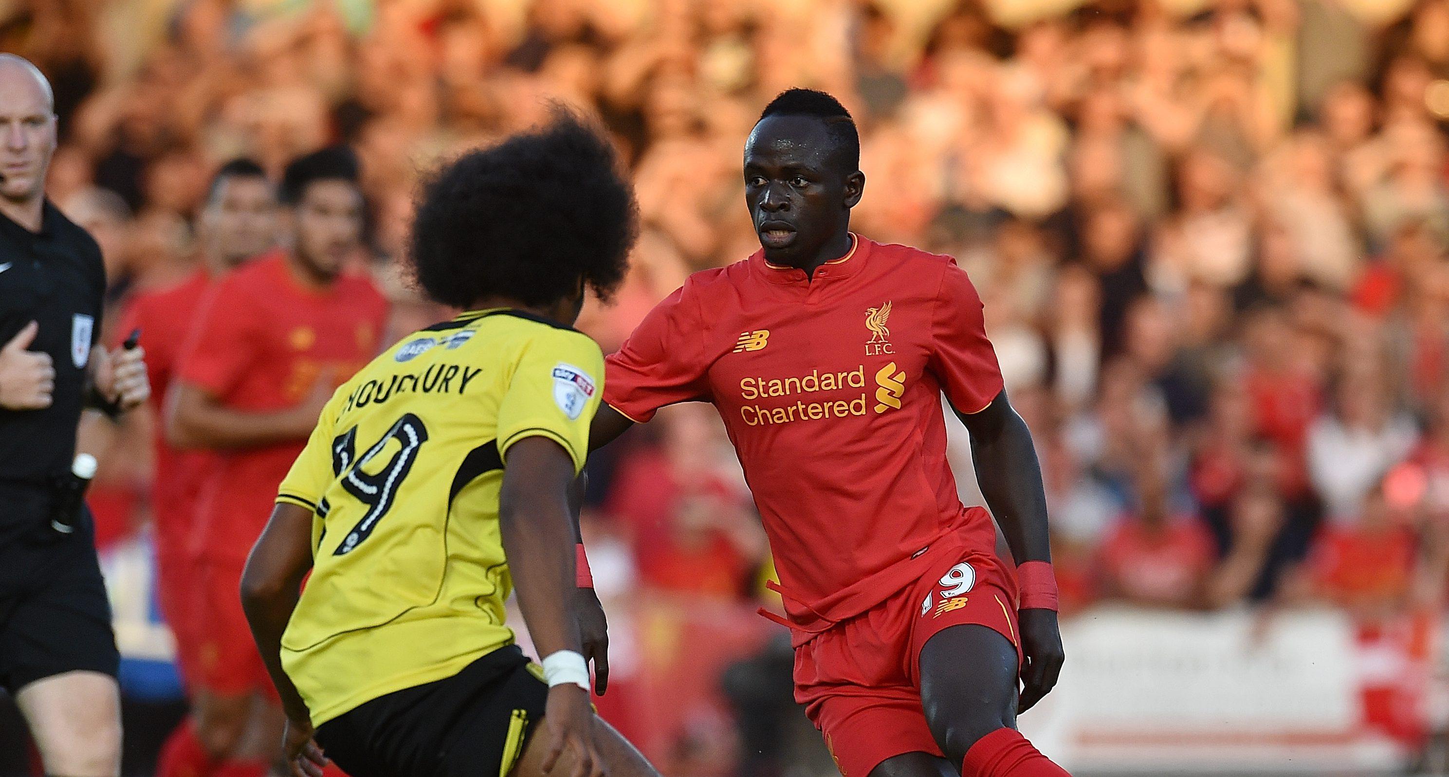 Sadio Mane steals the show as Liverpool thump Burton Albion 5-0 to reach EFL Cup third round