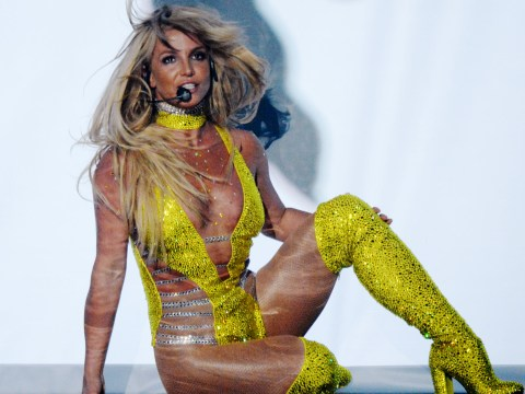 Britney Spears angers fans by 'MIMING' as she makes MTV VMAs comeback nine years after Gimme More fiasco