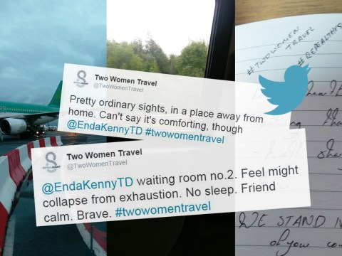 #Twowomentravel: Irish women live tweet as they head to UK for abortion