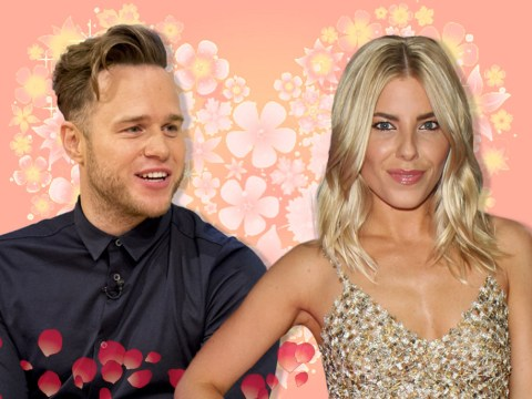 Olly Murs reveals he has a crush on The Saturday's Mollie King live on the radio
