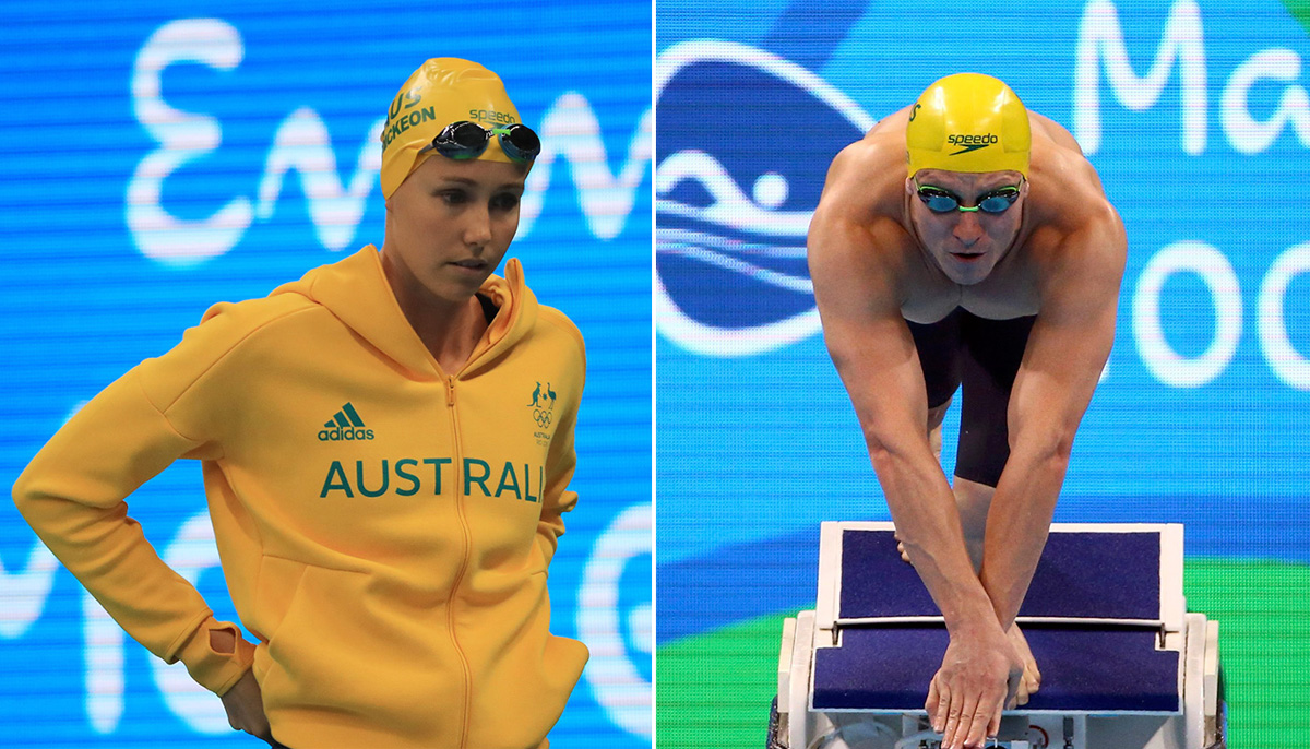 Australian swimmers banned from closing ceremony after night out