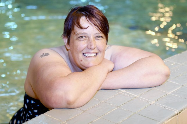 Woman showers for the first time in 30 years after conquering fear of water