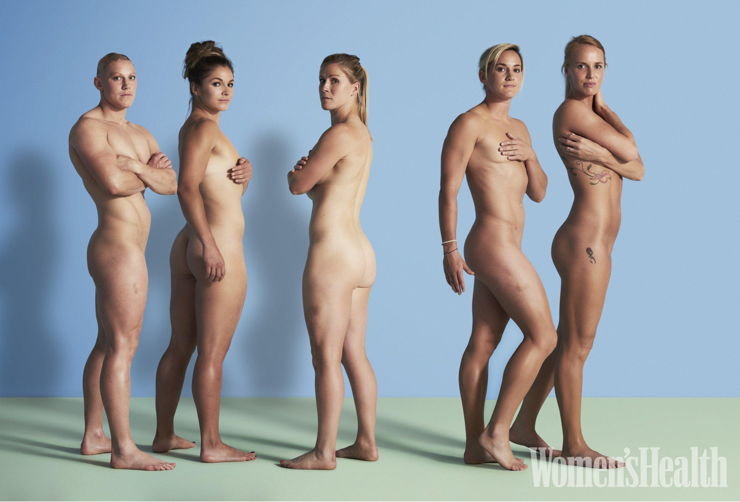Naked black an white girls
