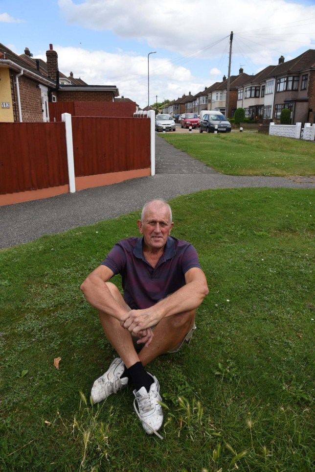 Pensioner told he could be charged with criminal damage for cutting the grass outside of his home twice a week