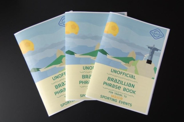 Chinese firm prints hilarious phrase guide for Rio including how to say 'screw you' in a hand gesture and what to shout if you become a political prisoner Whole sale clearance https://www.wholesaleclearance.co.uk/blog/brazillian-phrasebook/