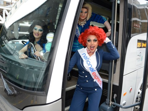 Drag queens cheer up Southern Rail commuters as RMT says it may suspend strike