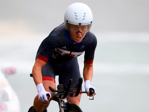 Team GB's Emma Pooley misses out on a medal in women's time trial