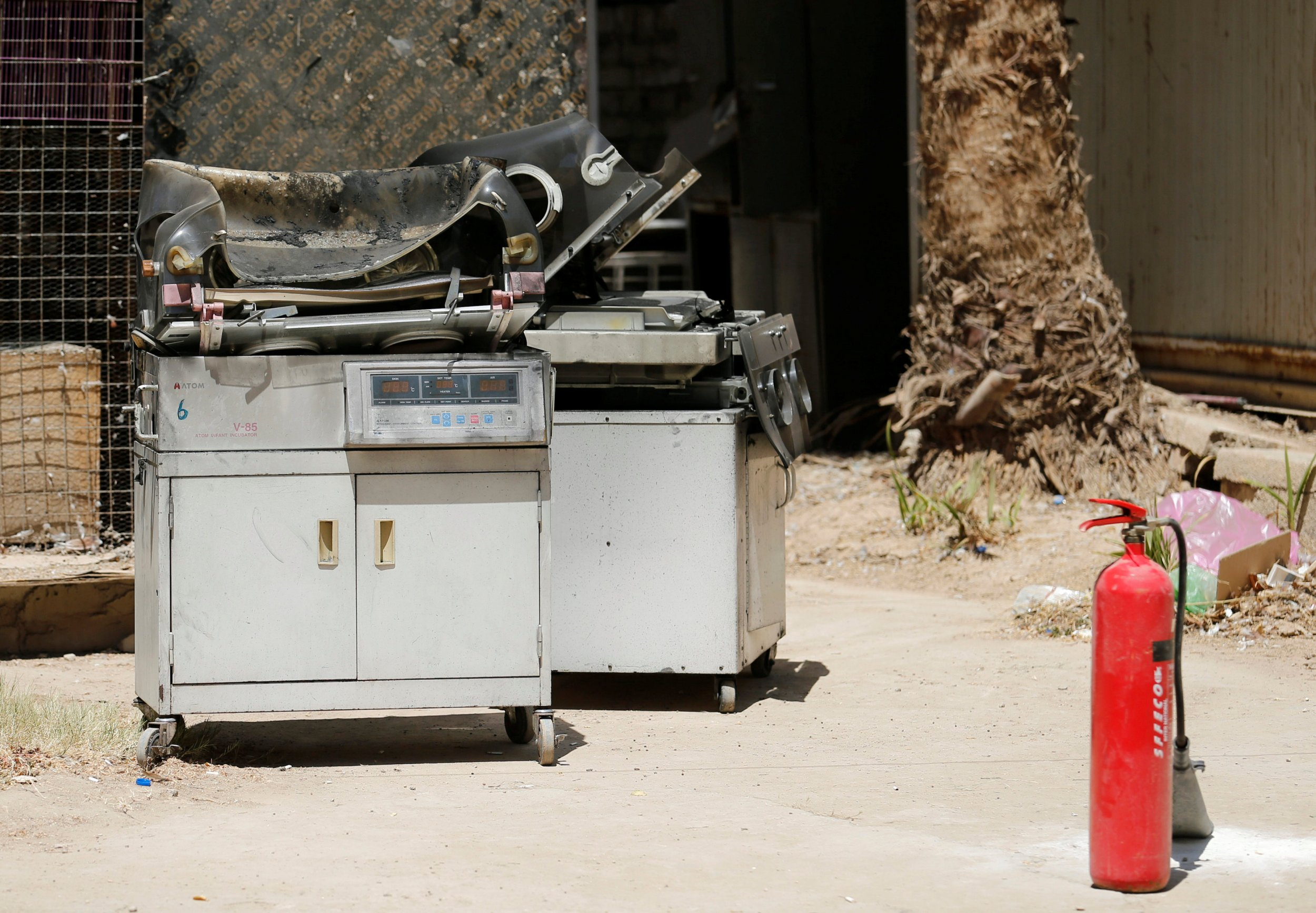 Hospital fire kills 11 newborn babies in Iraq