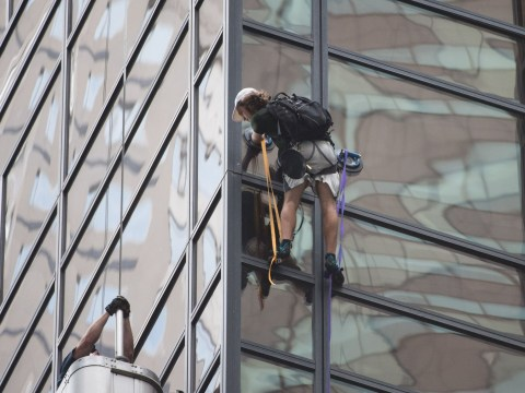 Some of the best reactions to man who scaled Trump Tower with suction cups