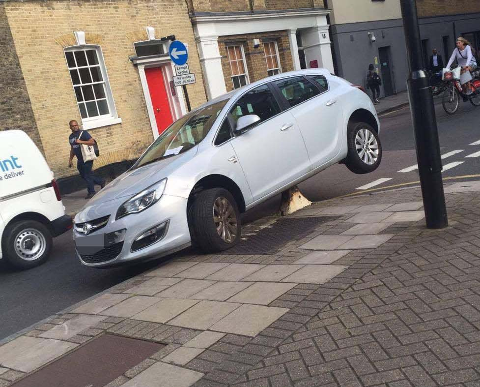 Awful parking decisions