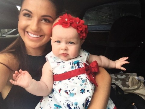 New mum admits having a baby hasn't been the 'walk in the park' she thought it'd be