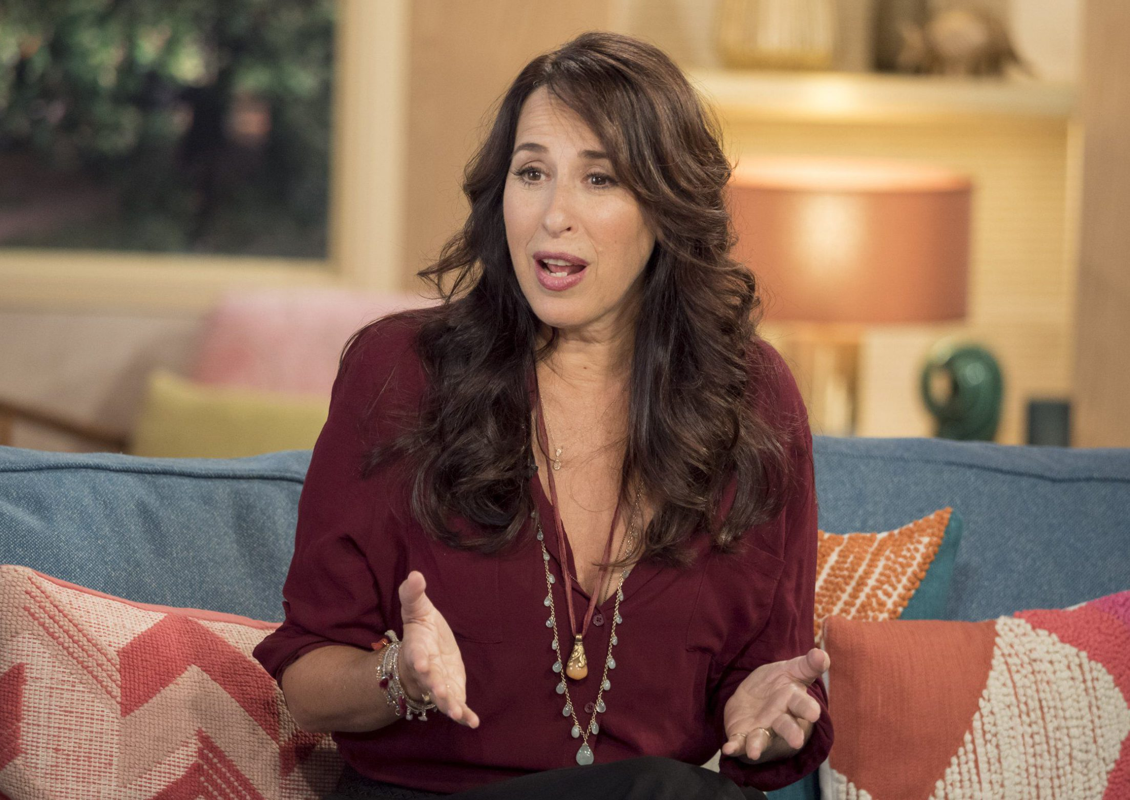 EDITORIAL USE ONLY. NO MERCHANDISING. IN US EXCLUSIVE RATES APPLY Mandatory Credit: Photo by Ken McKay/ITV/REX/Shutterstock (5838745cj) Maggie Wheeler 'This Morning' TV show, London, UK - 22 Aug 2016 'OH MY GAWD' - IT'S JANICE FROM FRIENDS! - When our next guest auditioned for a small role in a new sitcom, she had no idea what a global phenomenon it would become. And over twenty years since 'Friends' first hit our screens Maggie Wheeler - who played Janice - still remains a firm fan-favourite for her infamous catchphrase and distinctive laugh. Ahead of FriendsFest- today we're joined by Maggie as she gives us the inside scoop of life on set on one of the most popular sitcoms of all time and reveals the story behind that infamous laugh.