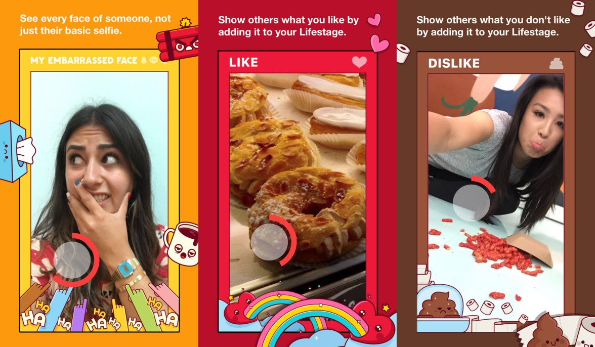 Facebook's just launched its own app for teens that rivals Snapchat PREVIEW Credit: Facebook/Lifestage