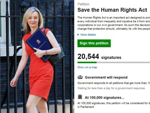 Thousands back petition to defend the Human Rights Act