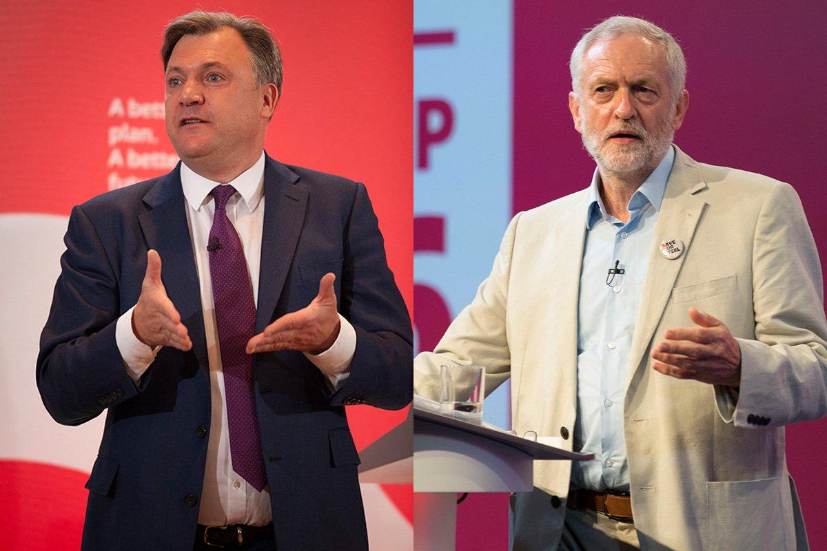 Ed Balls accuses Corbyn of leading a 'leftist Utopian fantasy'