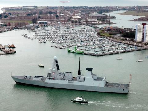 Royal Navy sends HMS Daring to fight Isis