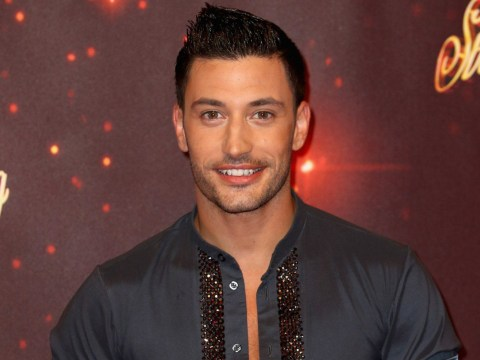 Giovanni Pernice is all smiles at the Strictly Come Dancing launch after split from Georgia May Foote