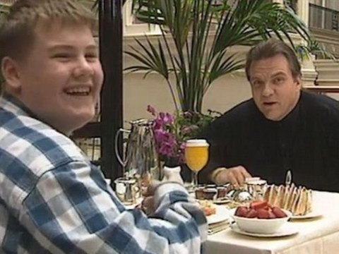 BBC celebrates James Corden's birthday by releasing throwback video of him interviewing Meat Loaf