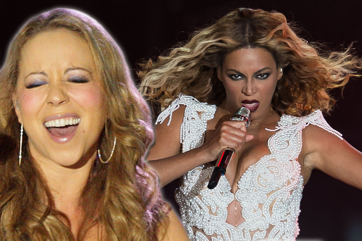 Mariah Carey 'hurled a laptop out a window after her fiancé played a Beyonce song before sex'