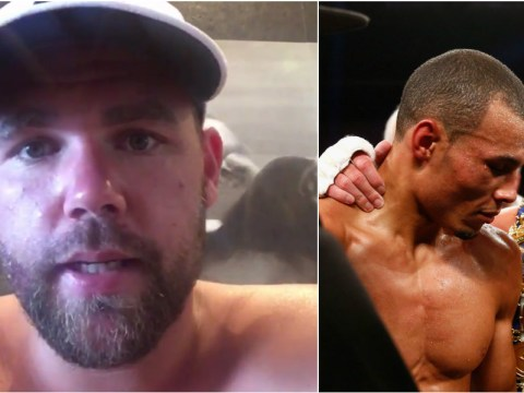 Chris Eubank launches Twitter barrage on Billy Joe Saunders after he posted a video response