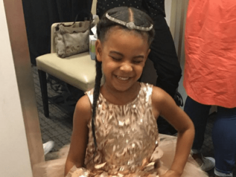 Is Beyonce's daughter Blue Ivy about to release her own perfume range?