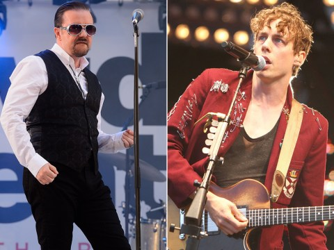 Former Razorlight drummer Andy Burrows compares 'egomaniac' Johnny Borrell to David Brent