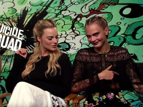 Cara Delevingne 'has a nipple detector' and proves her skills on Margot Robbie