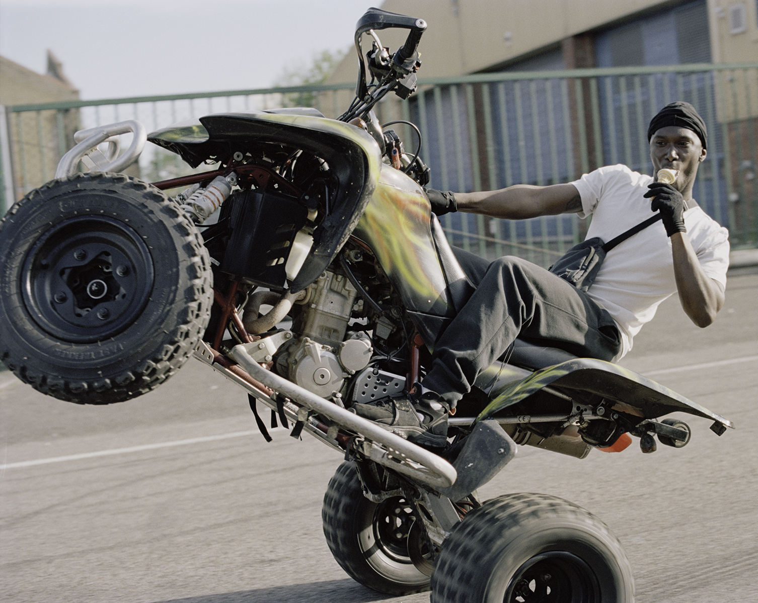 London's 'bad-boy riders' and quad bikers shown at their 'most rebellious' demonstrates the subculture in many ways