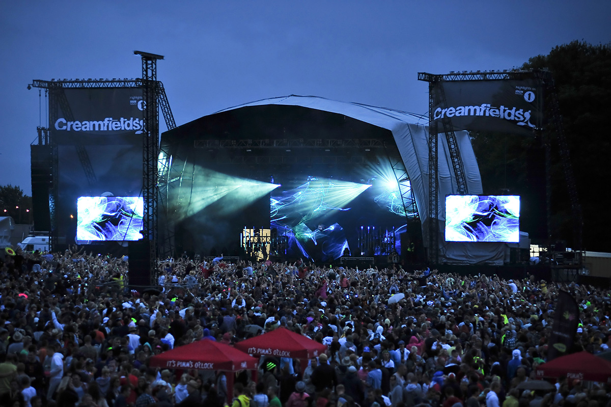 Man, 26, found dead at Creamfields Festival