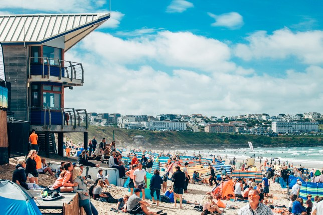 Deni Kirkova went to Boardmasters festival in Newquay, Cornwall, for five days of music, surf, skate and more (Picture: Boardmasters)