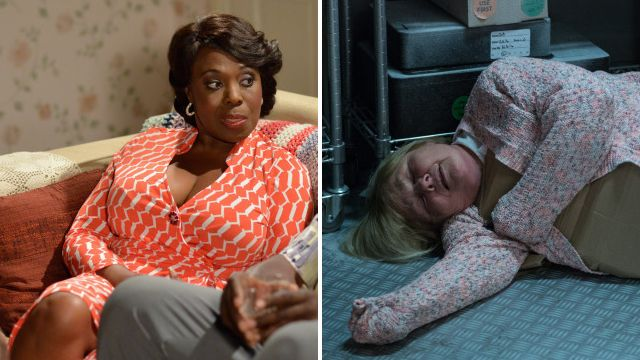 EastEnders spoilers: Suspect Claudette Hubbard exposes Aunt Babe's blackmail after deadly attack