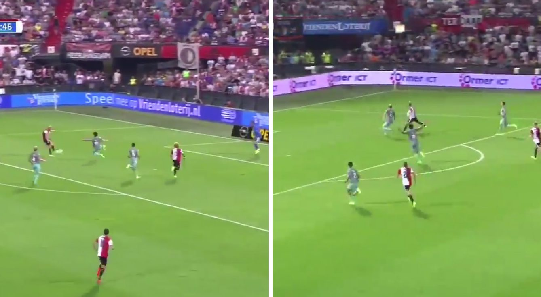 Video: Liverpool hero Dirk Kuyt scores two fine goals for Feyenoord