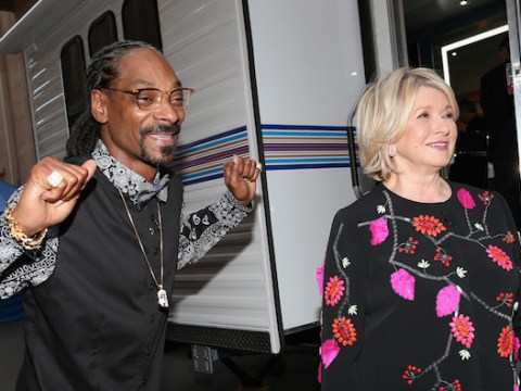 Snoop Dogg and Martha Stewart are teaming up to host a cookery show on VH1