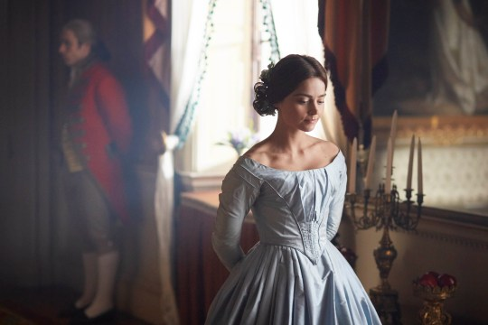 From ITV VICTORIA Embargoed until 16.30 11th August 2016 Pictured: JENNA COLEMAN as Victoria. This photograph is (C) ITV Plc and can only be reproduced for editorial purposes directly in connection with the programme or event mentioned above. Once made available by ITV plc Picture Desk, this photograph can be reproduced once only up until the transmission [TX] date and no reproduction fee will be charged. Any subsequent usage may incur a fee. This photograph must not be manipulated [excluding basic cropping] in a manner which alters the visual appearance of the person photographed deemed detrimental or inappropriate by ITV plc Picture Desk. This photograph must not be syndicated to any other company, publication or website, or permanently archived, without the express written permission of ITV Plc Picture Desk. Full Terms and conditions are available on the website www.itvpictures.com For further information please contact: Patrick.smith@itv.com 0207 1573044